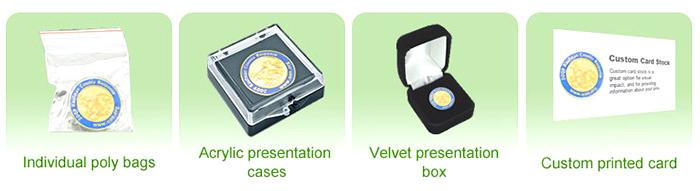 Packaging Options - ColorfulPins|Custom Lapel Pins|Baseball Pins